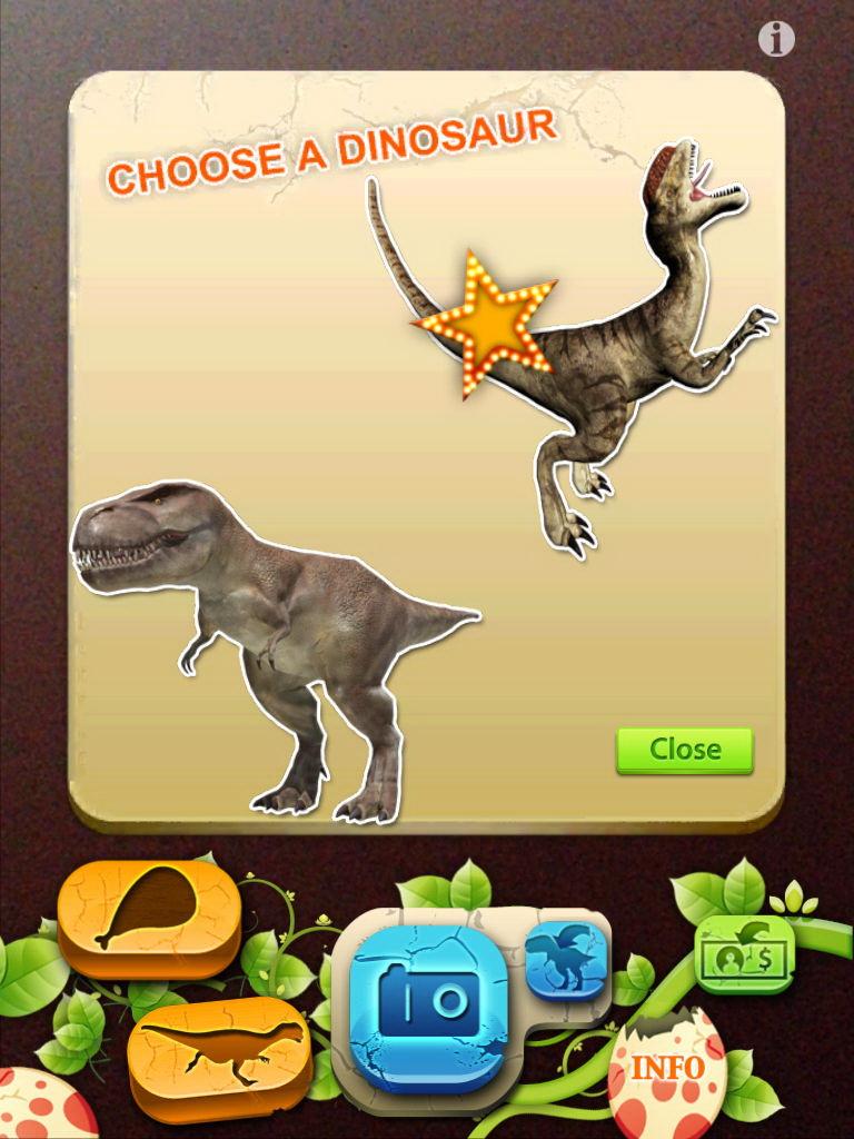 AR恐龙世界
