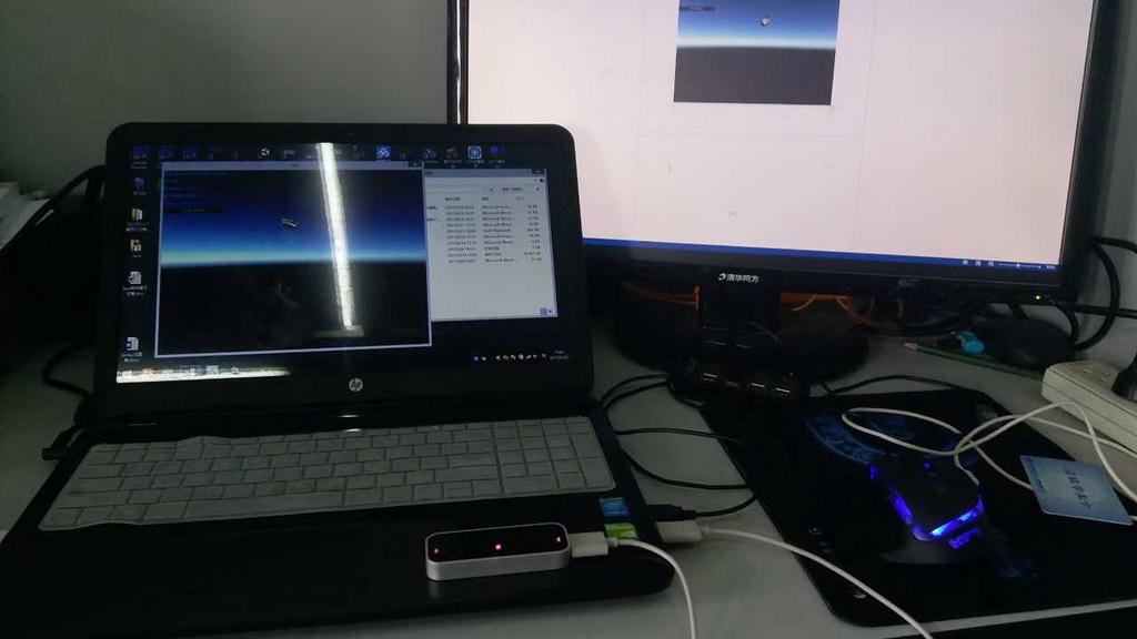 基于Leap Motion和无线HMD的虚拟化学系统