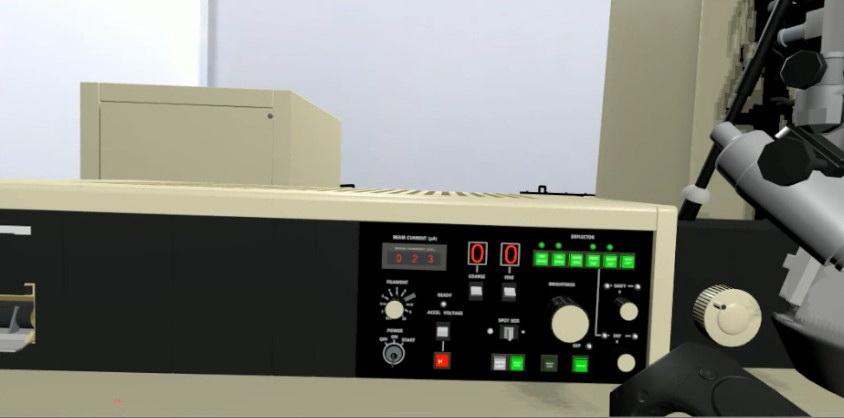 虚拟现实与游戏竞赛作品——VR电子显微镜实验室