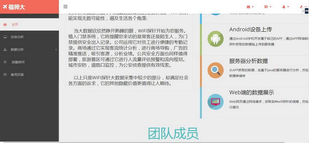 数据可视化竞赛作品——基于WIFI探针的商业监控评估系统