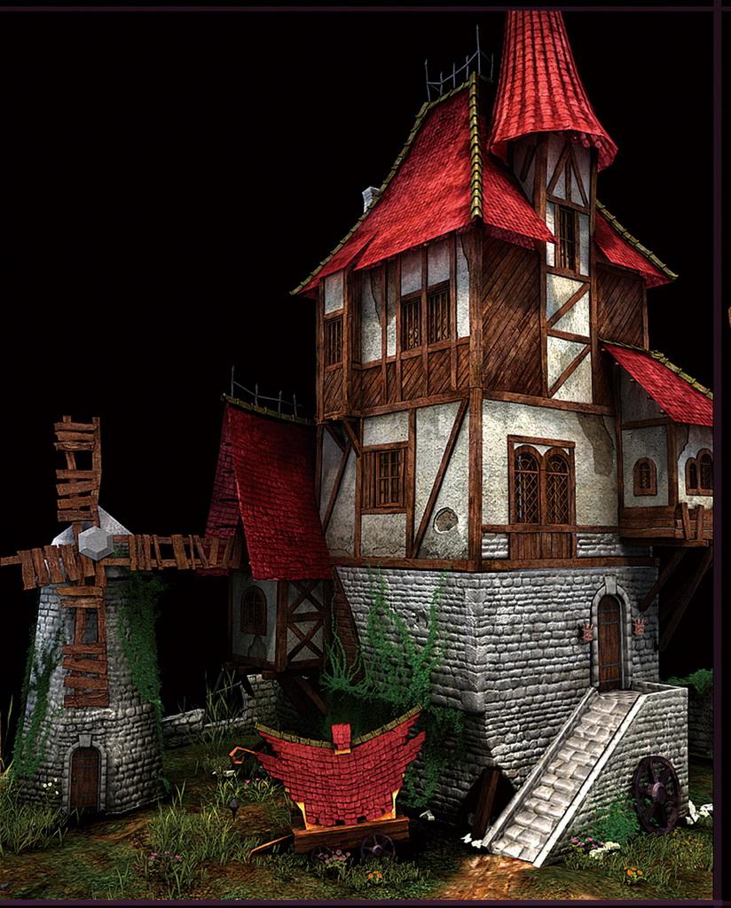 杜隆塔尔上的小屋
