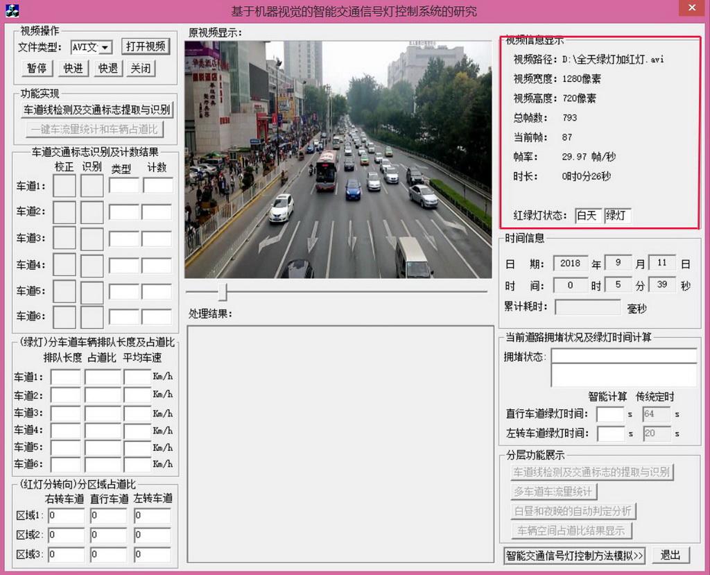 其他竞赛作品——基于机器视觉的智能交通信号灯控制系统