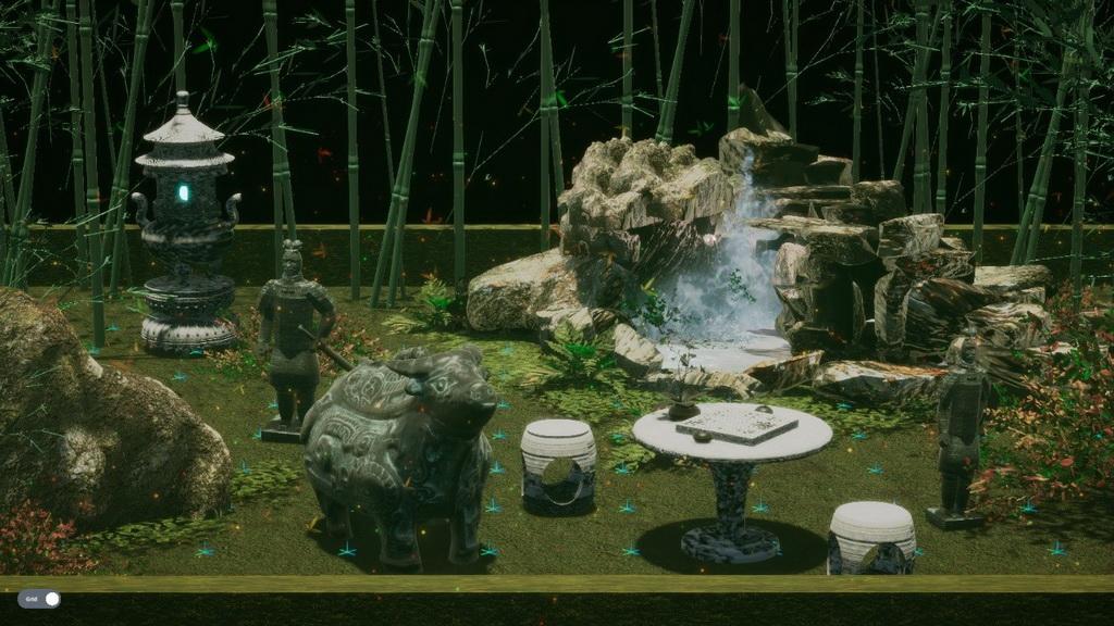 虚拟现实与游戏竞赛作品——竹林听泉——基于Unity3D的东方竹林场景设计
