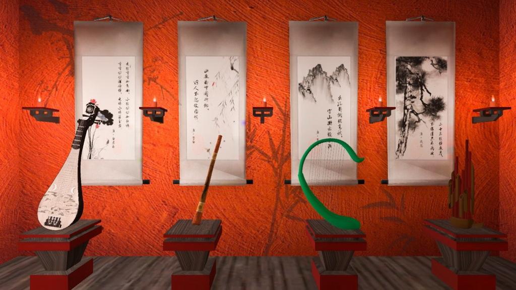 虚拟现实与游戏竞赛作品——《回溯者之唐》