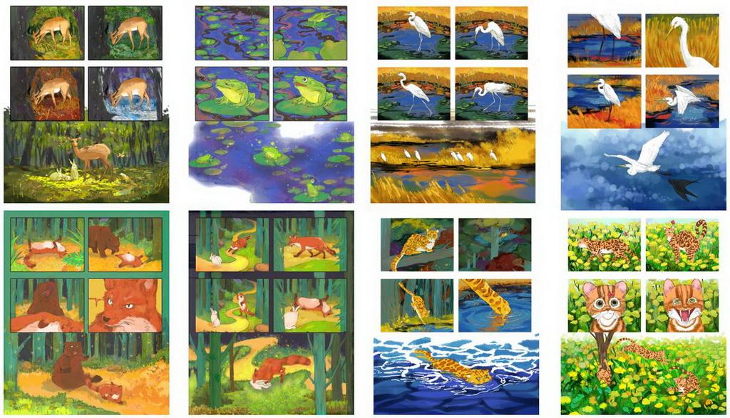 虚拟现实与游戏竞赛作品——动物丛林