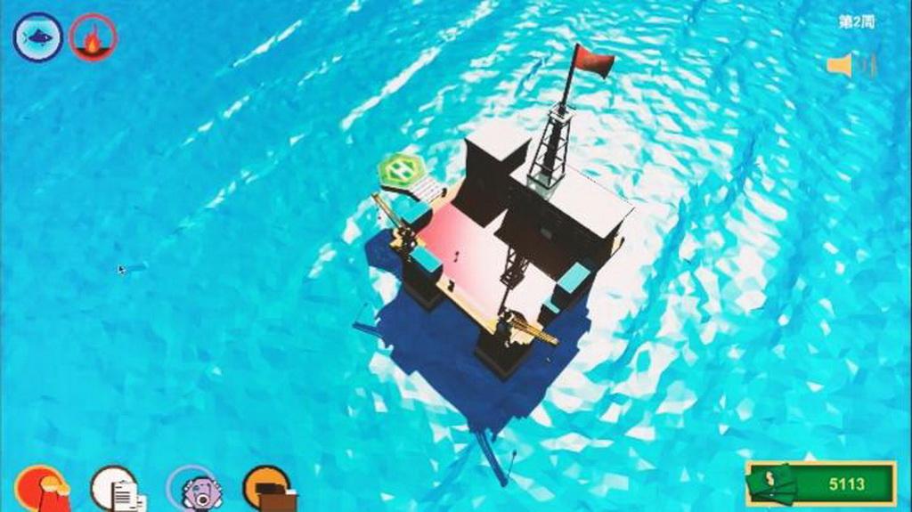 虚拟现实与游戏竞赛作品——可燃冰开发