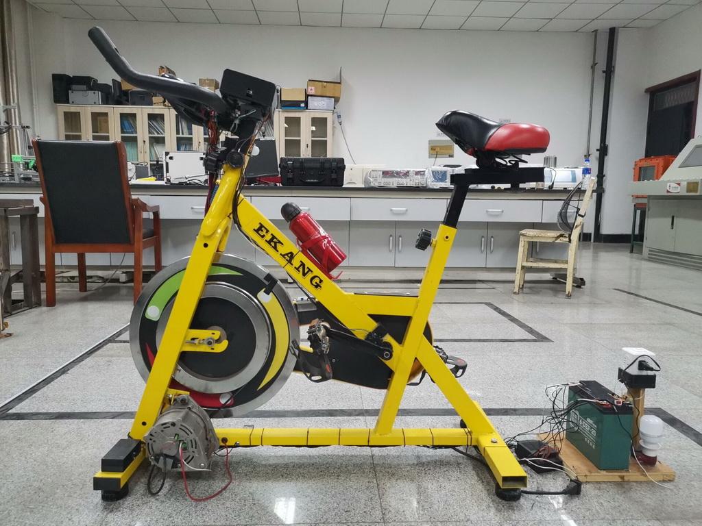 智能产品设计竞赛作品——运动数据可视化多端同步智能语音交互室内多功能健身单车