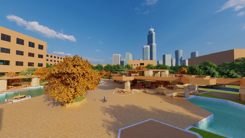 人居环境设计竞赛作品——蜂附云集
