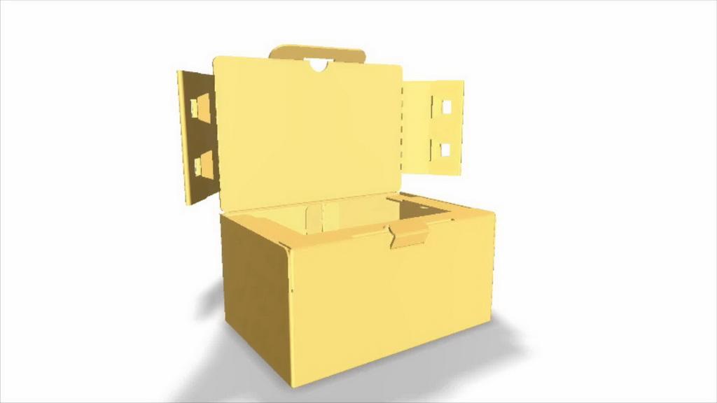 人居环境设计竞赛作品——新型电商运输包装箱