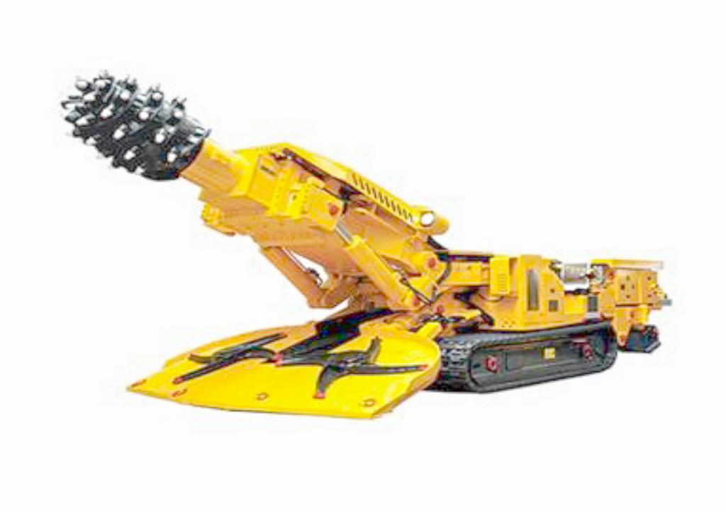 智能产品设计竞赛作品——煤矿无人操控钻机结构及自动掘进过程动画演示
