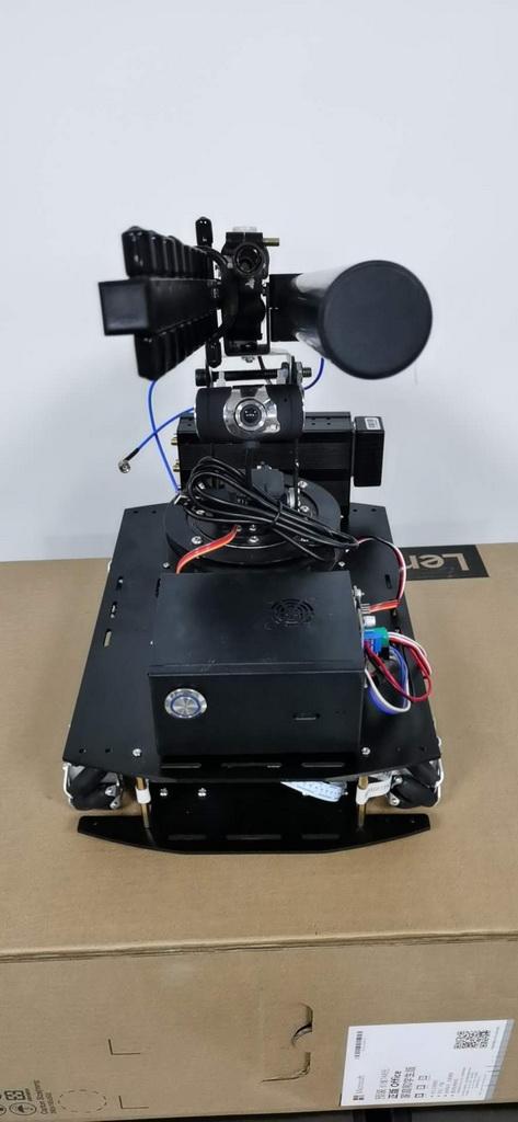 智能产品设计竞赛作品——基于树莓派4B的反无人机移动平台