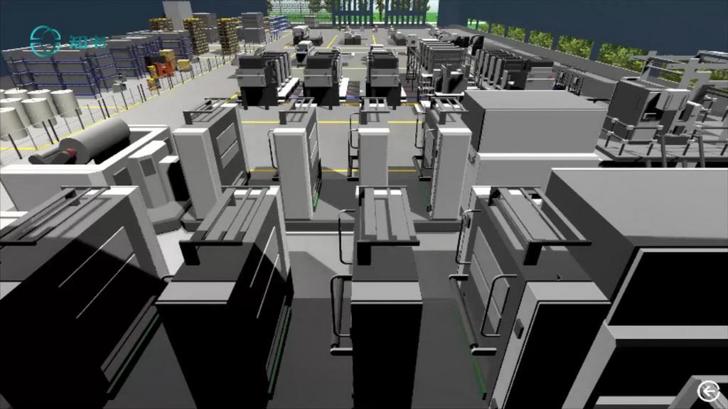 数据可视化竞赛作品——知书——书籍印刷数字孪生工厂