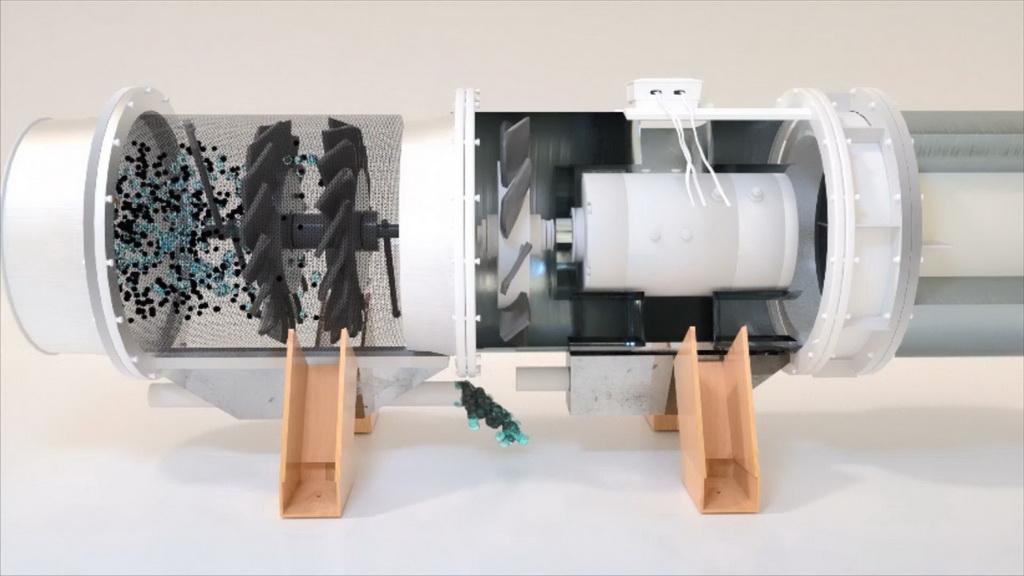 智能产品设计竞赛作品——三维多向旋流风幕智能控制装置