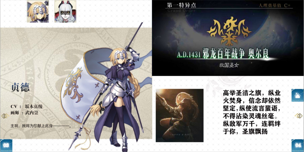 电子图书竞赛作品——《Fate/Grand Order First Anniversary》
