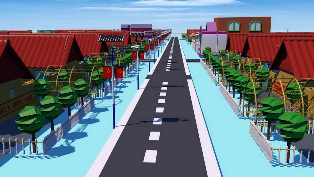 人居环境设计竞赛作品——美丽乡村