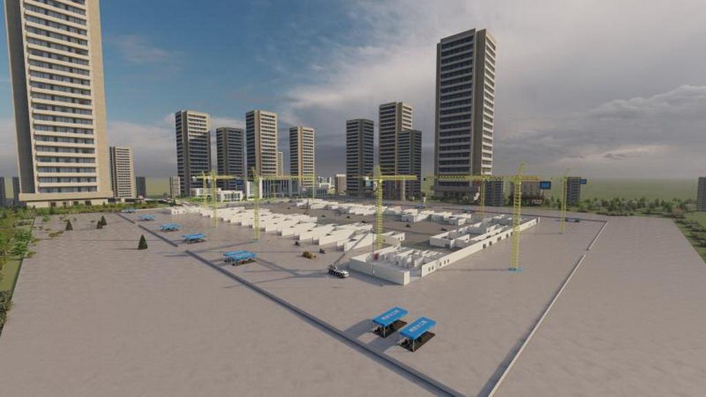 人居环境设计竞赛作品——兰州西站交通枢纽施工项目BIM应用