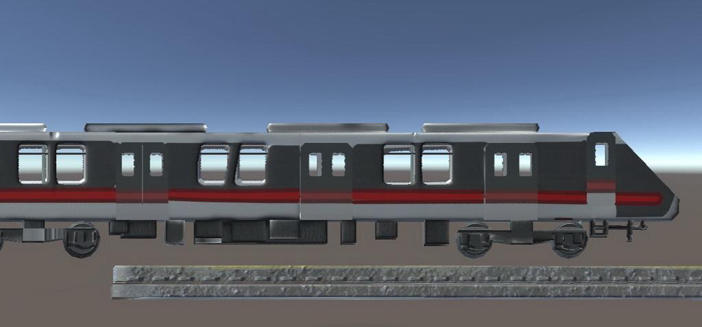 虚拟现实与游戏竞赛作品——VR地铁乘车交互体验系统