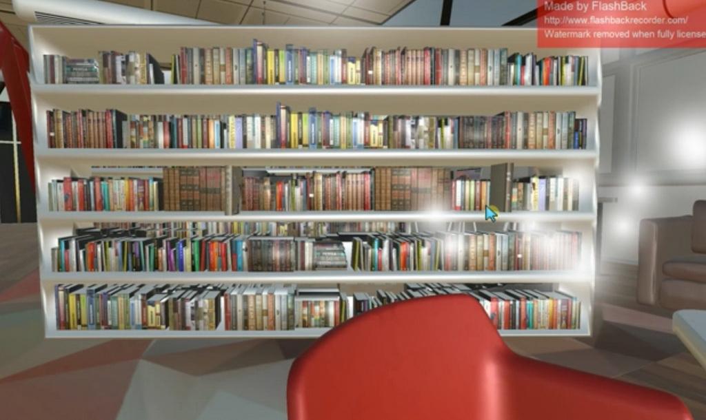 电子图书竞赛作品——虚拟图书的设计与开发