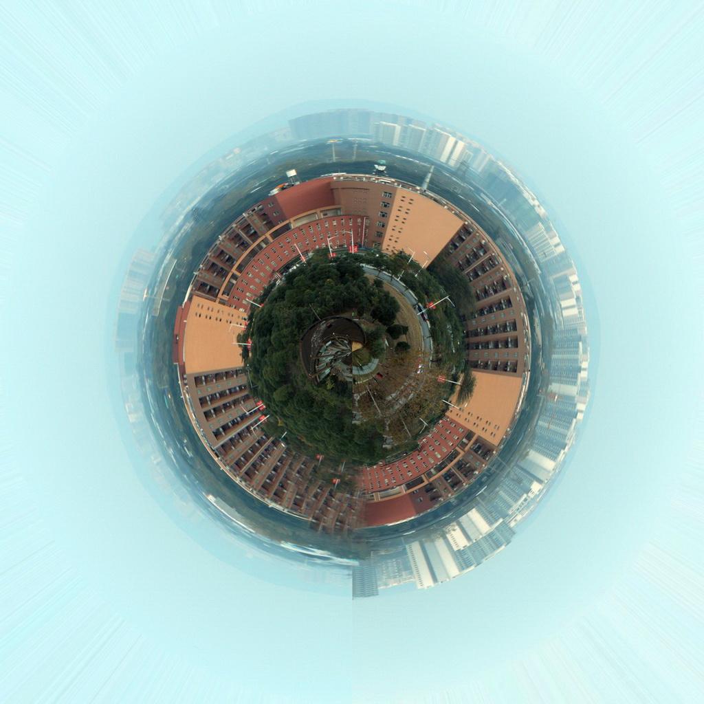 数字艺术表现竞赛作品——俯瞰世界