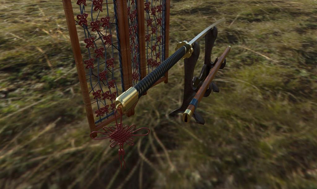 虚拟现实与游戏竞赛作品——名刀--观世正宗