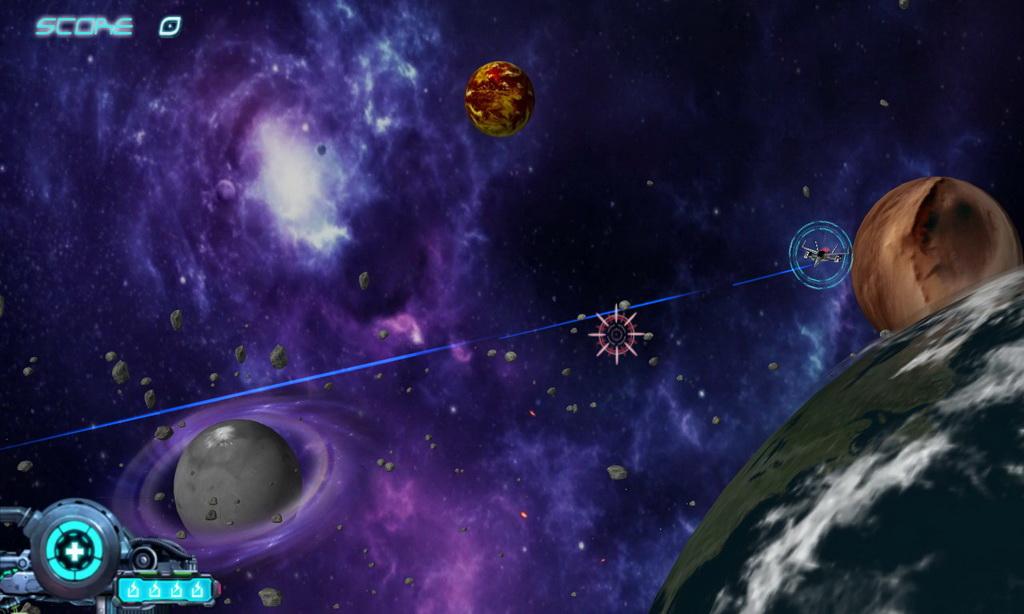 虚拟现实与游戏竞赛作品——StarWalker星役