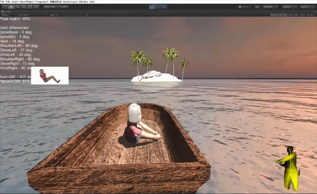 虚拟现实与游戏竞赛作品——荒野大逃脱