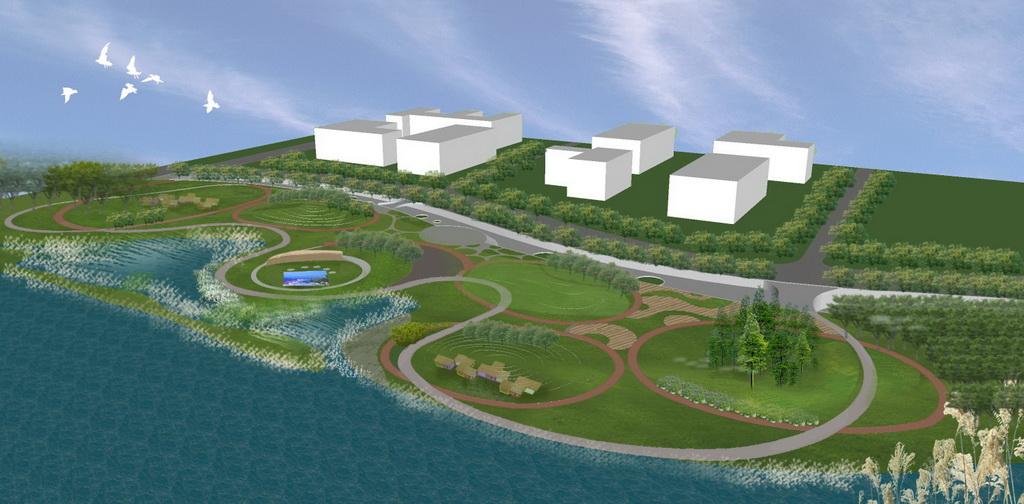 人居环境设计竞赛作品——所谓智能 在水之湄