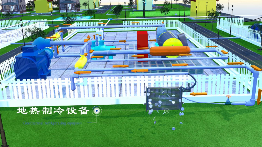 人居环境设计竞赛作品——水热型地热开发及其梯级利用作品展示