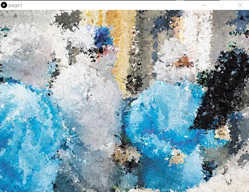 数字艺术表现竞赛作品——基于processing粒子交互系统——战疫作品