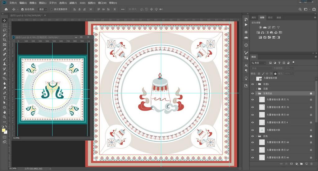 数字艺术表现竞赛作品——丝蕴甘南—基于甘南藏八宝的文创产品及虚拟漫游展厅设计
