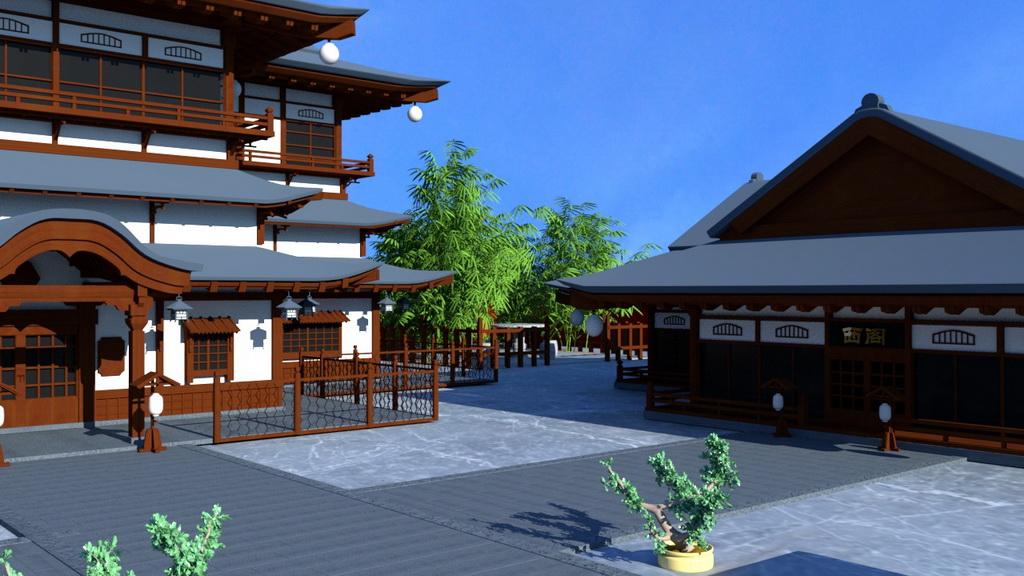人居环境设计竞赛作品——仙居