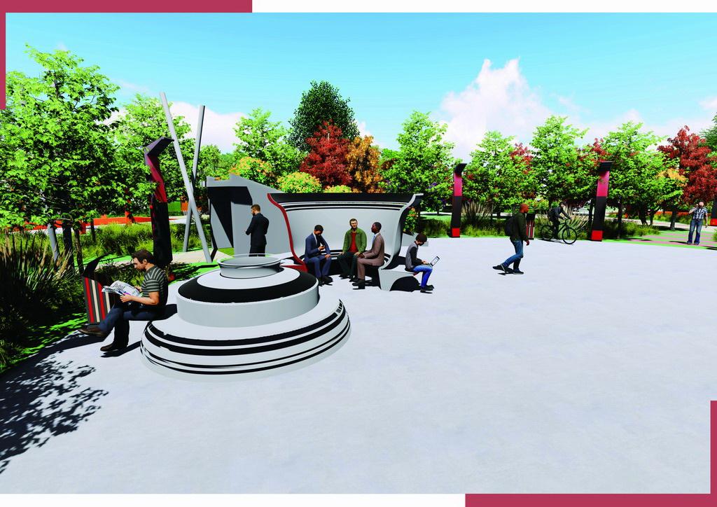 智能产品设计竞赛作品——智能公共设施设计(城市公园与社区环境下)