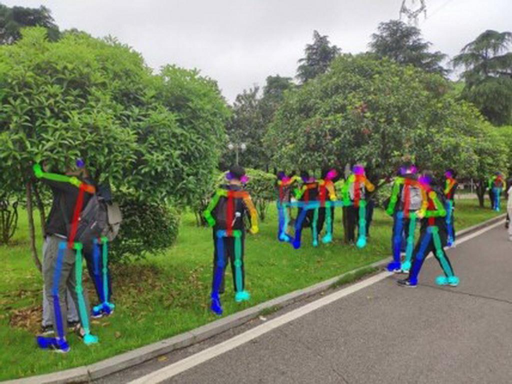 智能产品设计竞赛作品——基于 OpenPose 的人群防疫检测机器人